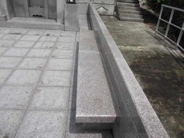 御影石墓工事中型タイプ⑤