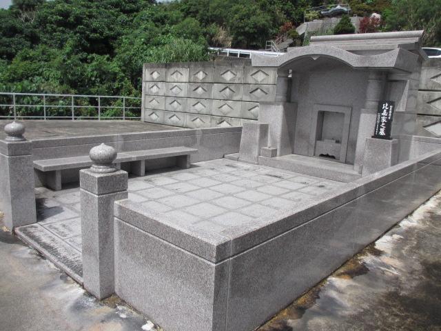 御影石墓工事中型タイプ③