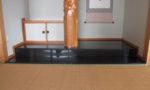 床の間御影石貼り2