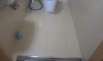 トイレ土間石貼り