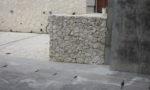 ヒンプン栗石積み