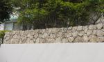 花壇栗石積み2