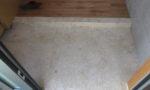 琉球石灰岩玄関框・土間方形石張り本磨き