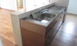 キッチン天板大理石