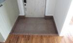 玄関框・巾木・土間石貼り(Gー562)・土間ブラスト仕上
